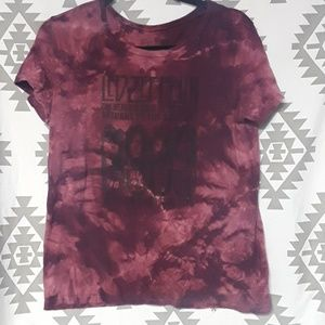 Led Zeppelin Tie dye Graphic Band Tee
